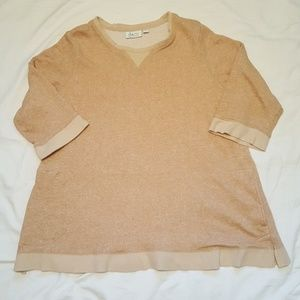 d & co Loose Fit Sweat Top with Pockets  Y408